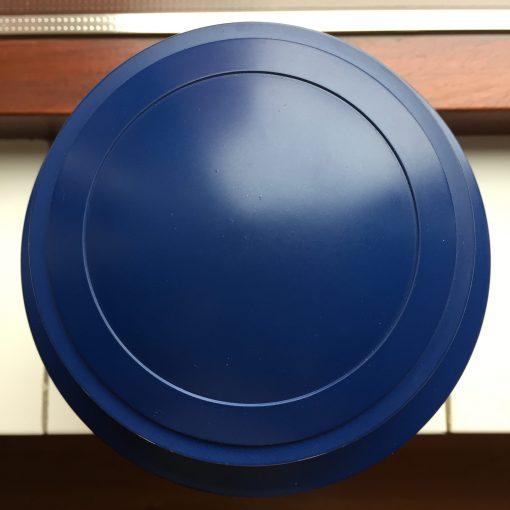 Goedkope urn blauwe bovenaanzicht