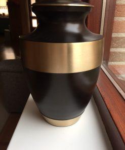Goedkope urn bruine
