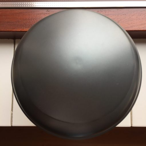 Goedkope urn grijs grijze bovenaanzicht