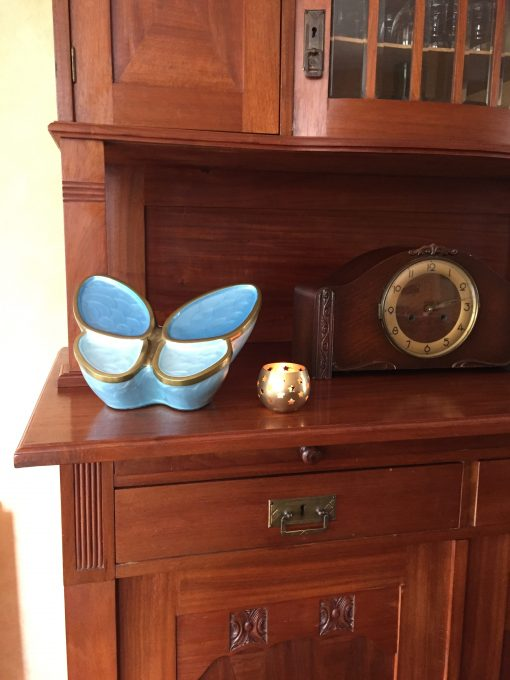 Goedkope urn vlinder thuis