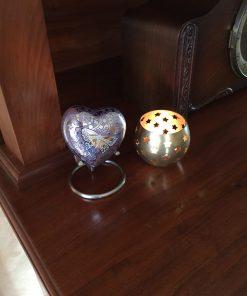 Mini urn hart thuis