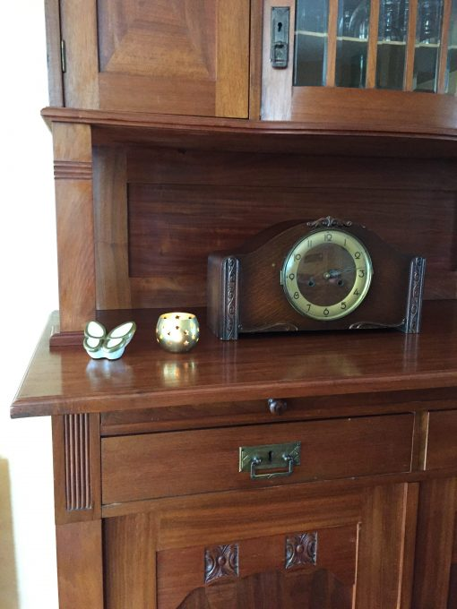 Mini urn vlinder wit thuis